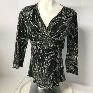 NWT CHRISTOPHER & BANKS Womens Small Pullover Top
